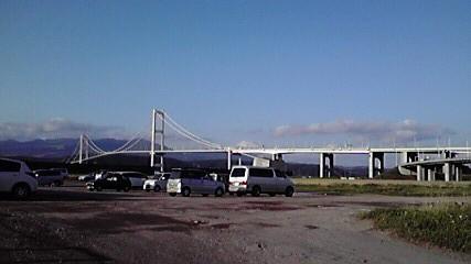 白鳥大橋、立派です。